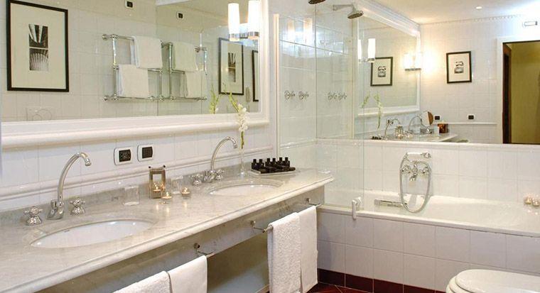 baños modernos con granito