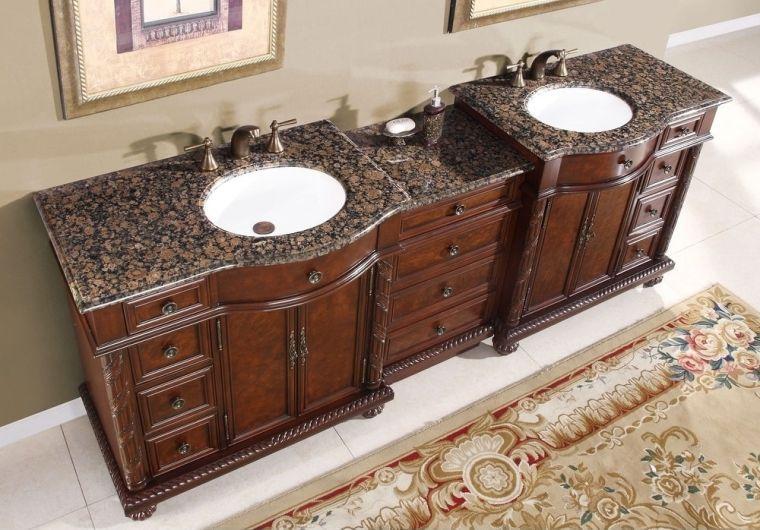 baños modernos dobles