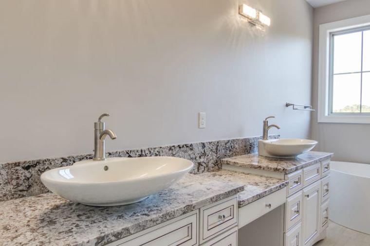 baños modernos granito