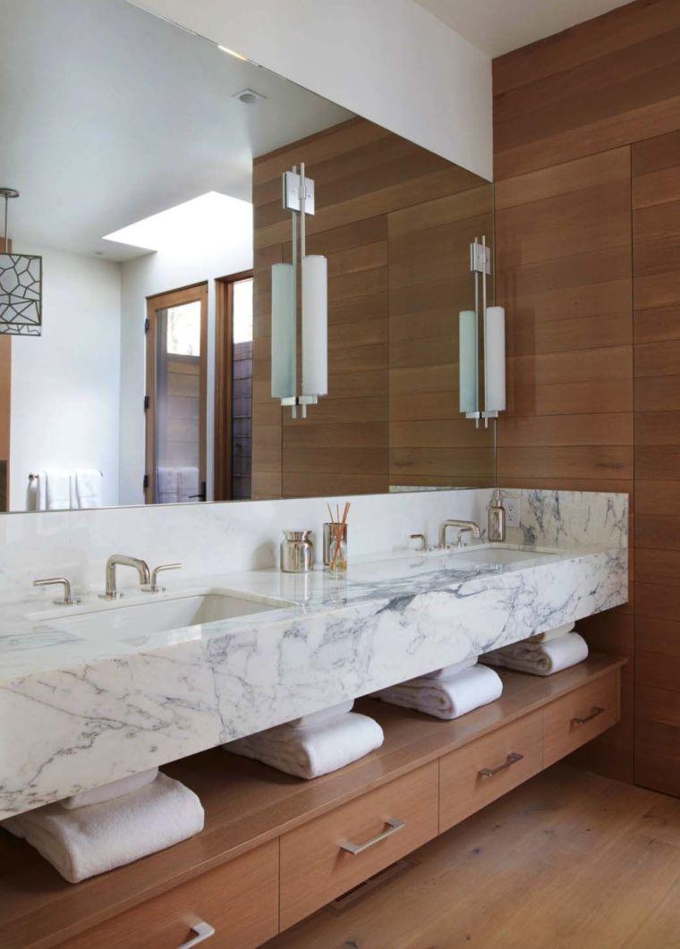 baños modernos tocador