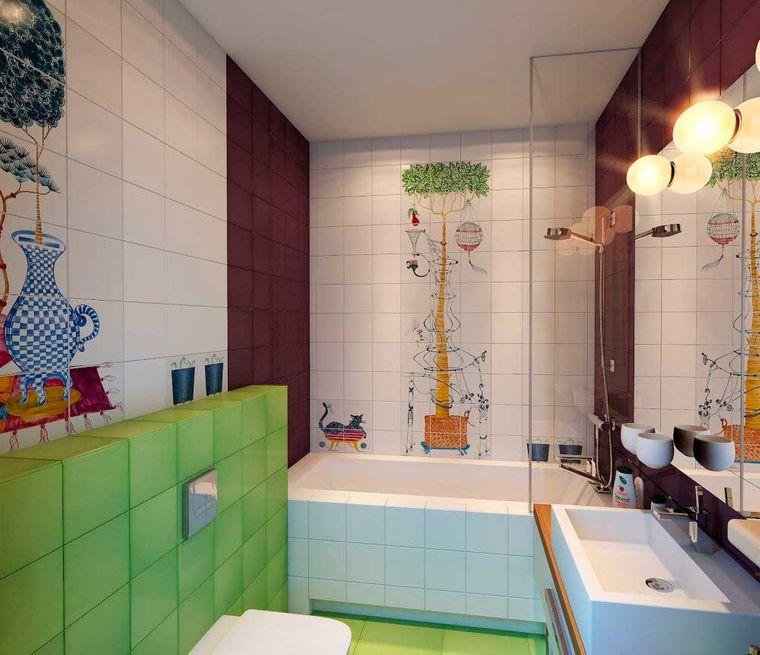 baños para niños arbol