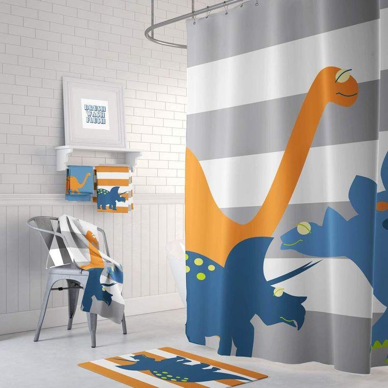 baños para niños dinosaurio