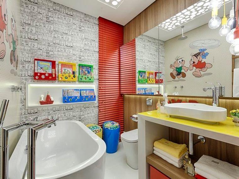 baños para niños llamativo