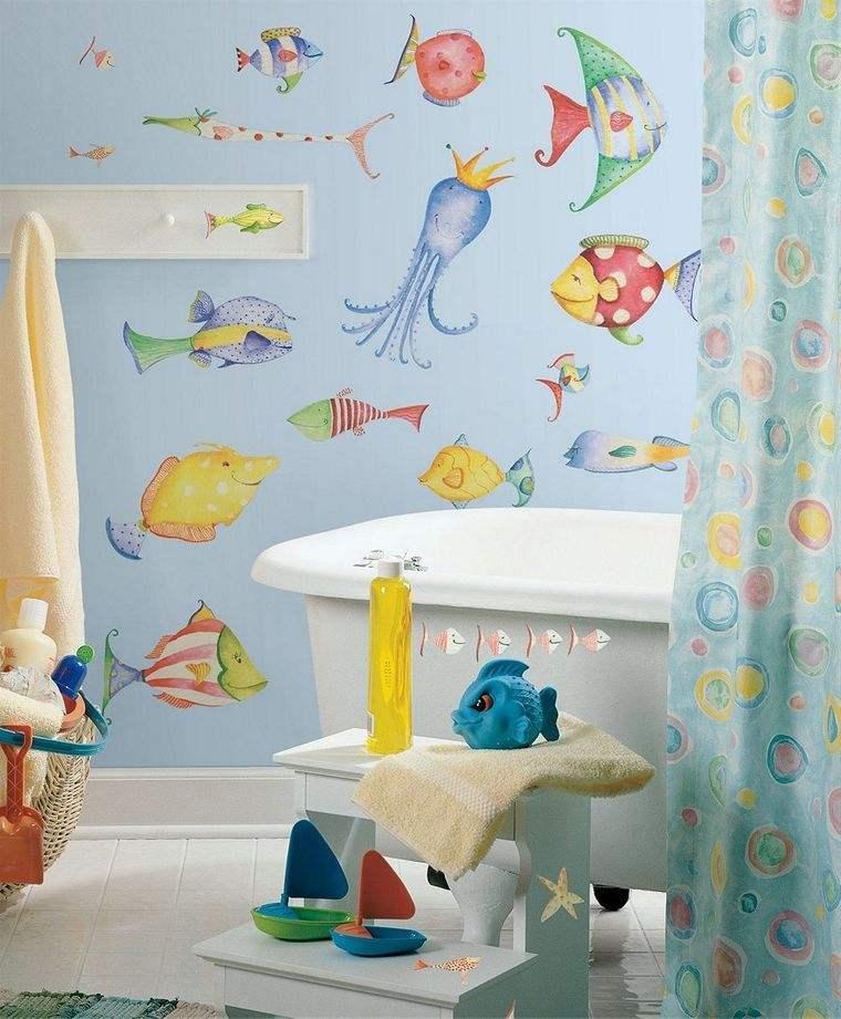 baños para niños marino