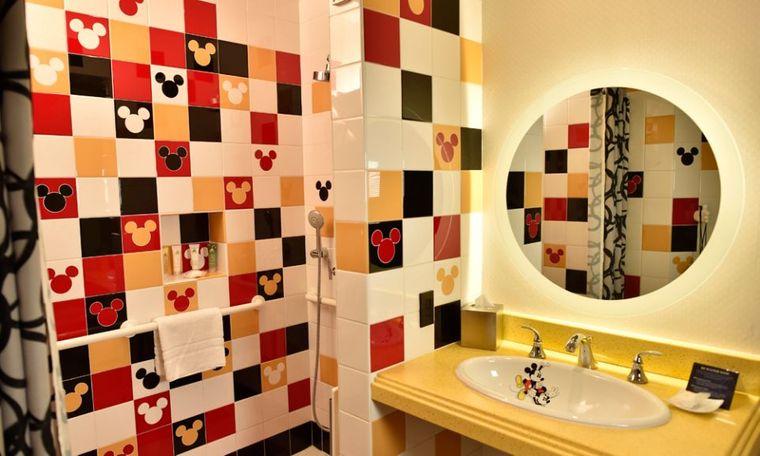 baños para niños mickey