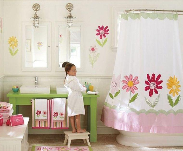 baños para niños niña