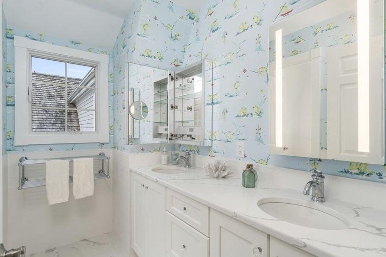 baños para niños papel tapiz