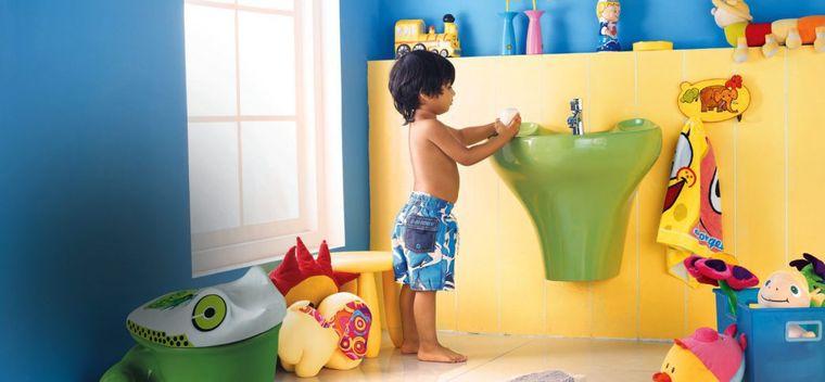 baños para niños pequeño