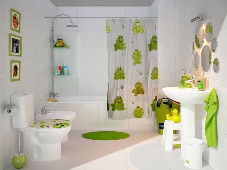 baños para niños ranitas