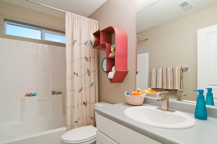 baños para niños sencillo