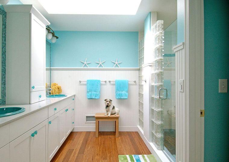 Baños para niños – Hermosas y alegres ideas para decorar