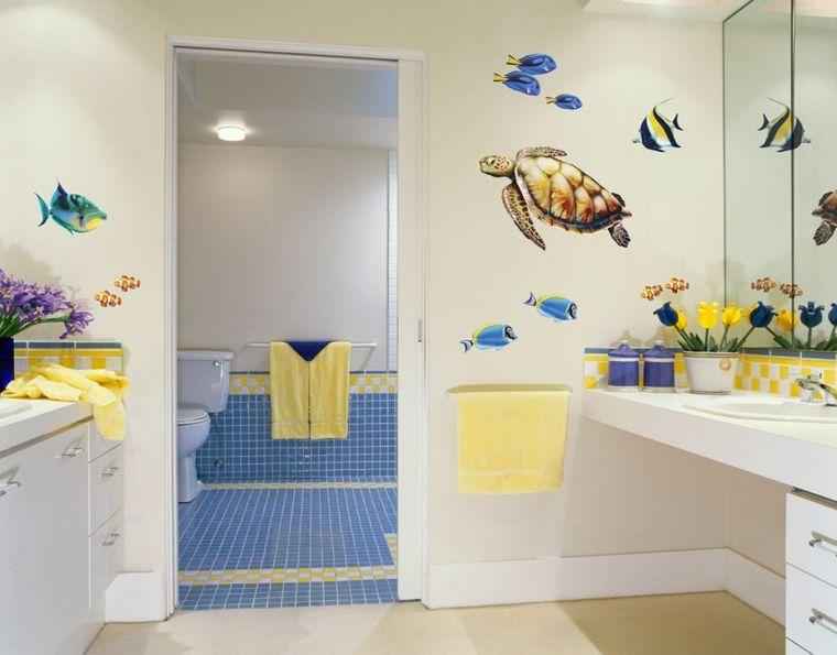 baños para niños tortuga