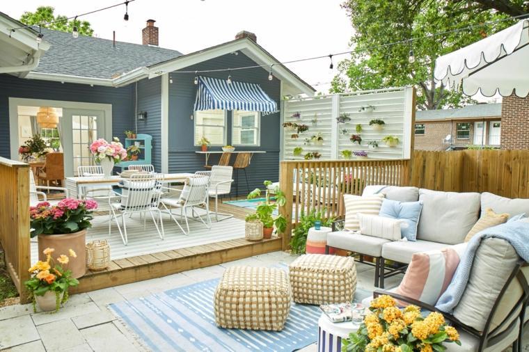 balcones decorados-terrazas-2020-lugares-descanso