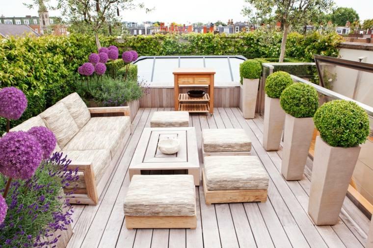 balcones decorados-terrazas-2020-macetas-plantas