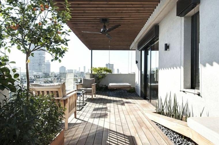 balcones-decorados-terrazas-2020-muebles-ideas