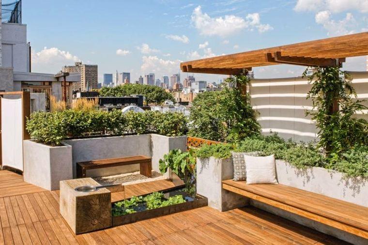 balcones-decorados-terrazas-2020-suelo-madera
