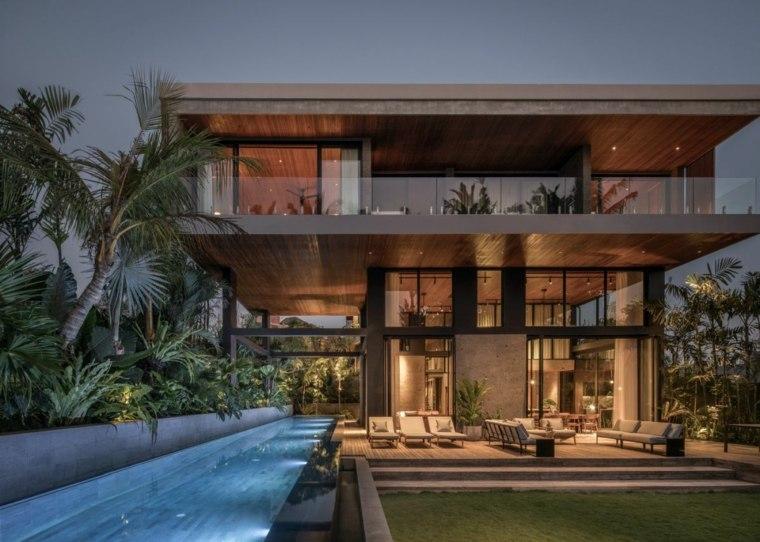 Casa moderna en bali conozca el impresionante dise o de for Casa moderna kw