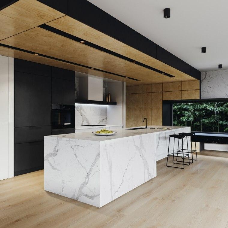 cocina-ideas-diseno-moderno-marmol