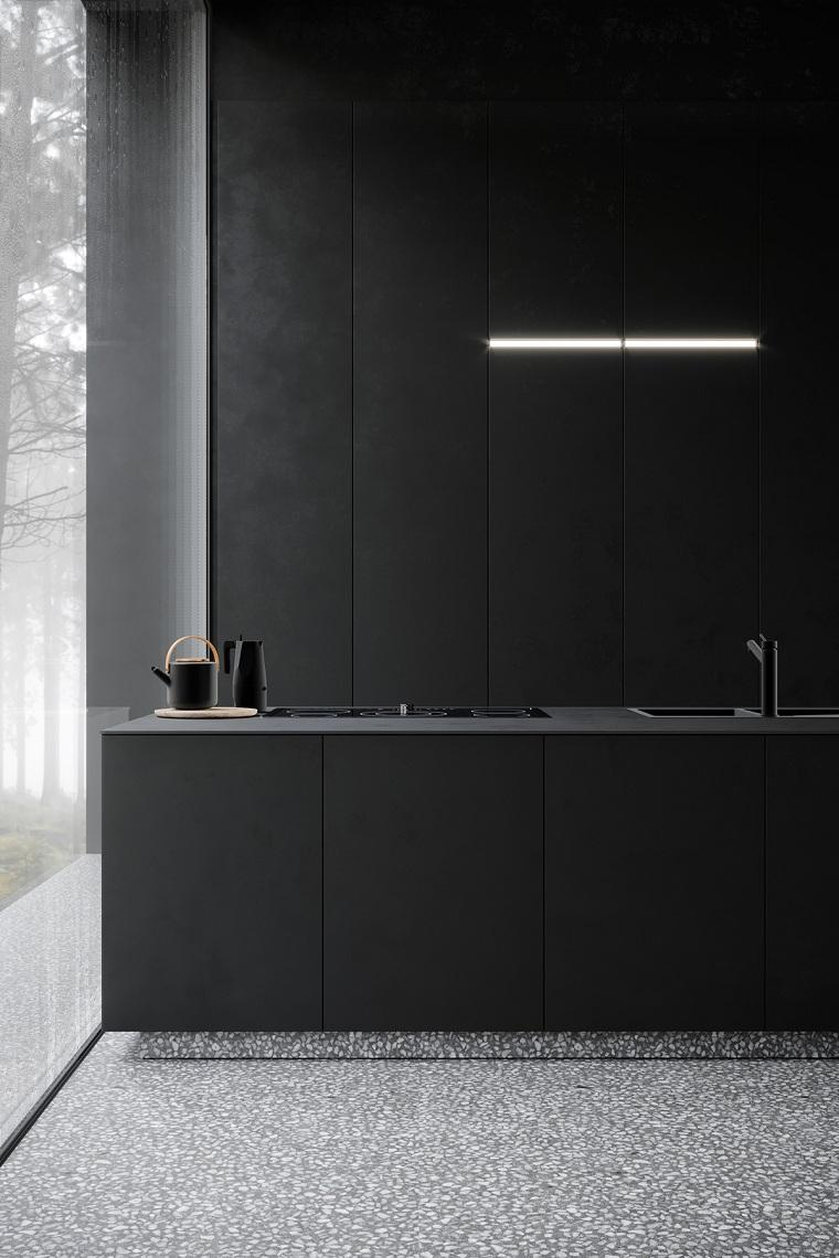 cocina-muebles-paredes-negros