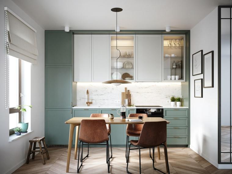 cocina-verde-color-original