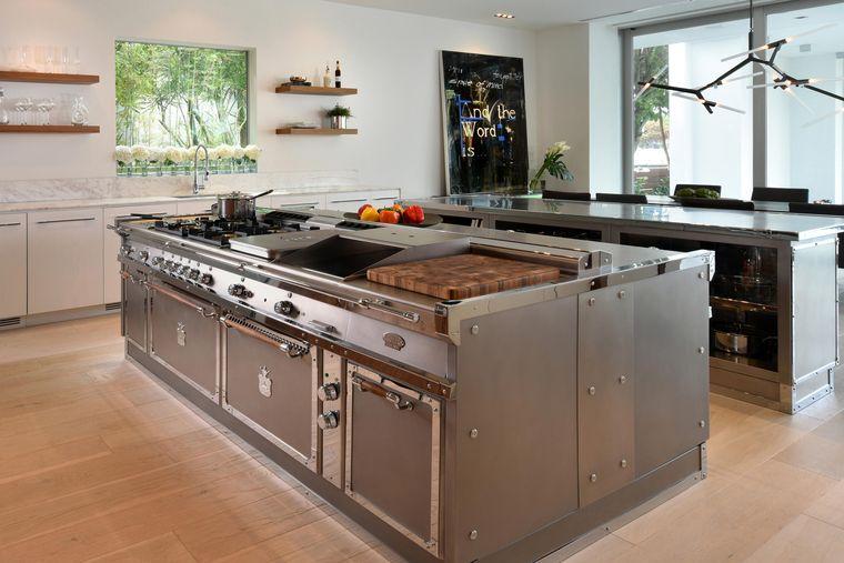 cocinas con isla accesorios