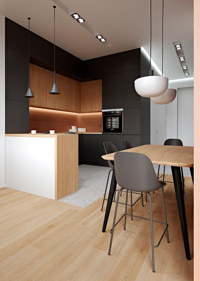 cocinas-con-muebles-negros-pared-negra