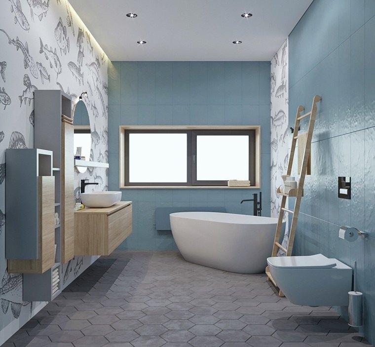 color-azul-claro-bano-estilo