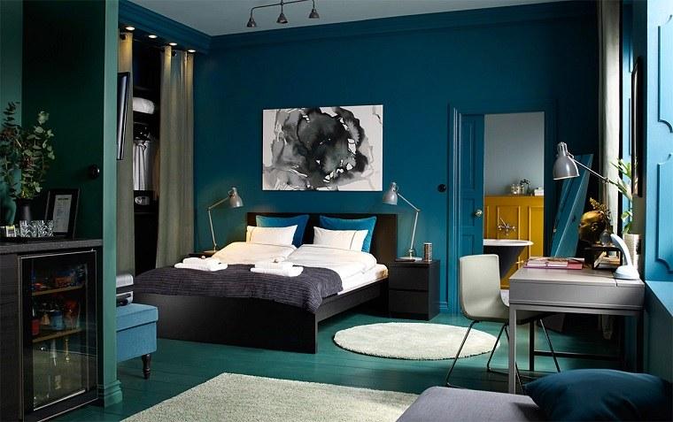 combinacion-verde-azul-dormitorio