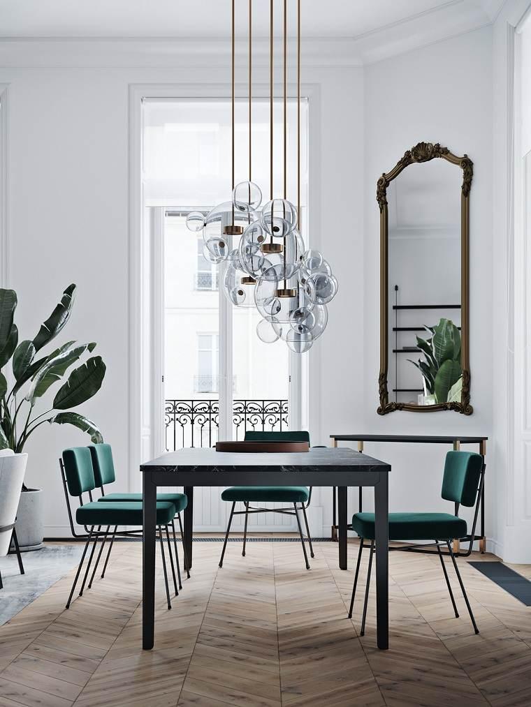 como-decorar-un-comedor-muebles-simples