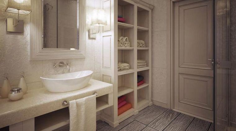 decoración cuartos de baño almacenar