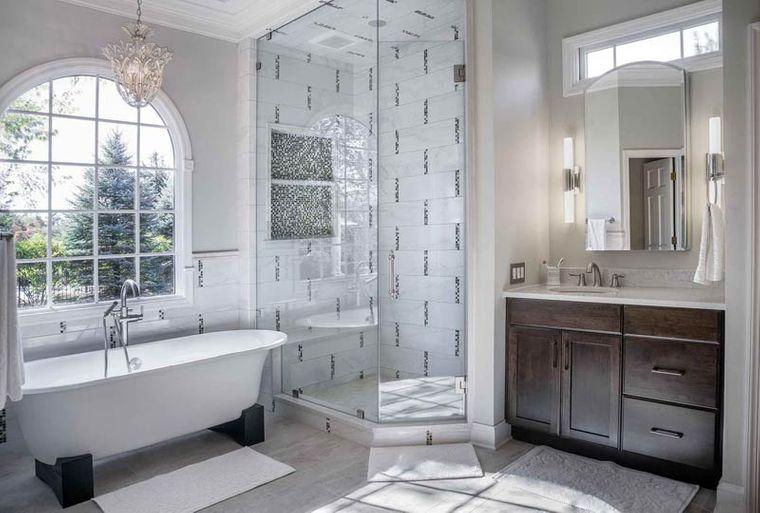 decoración cuartos de baño bañera