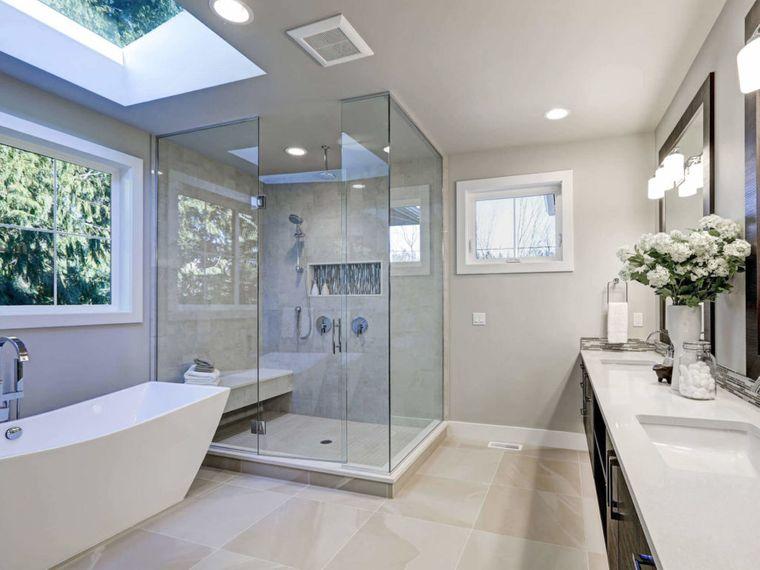 decoración cuartos de baño calido