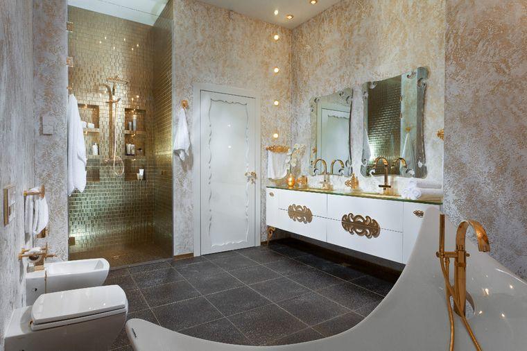 decoración cuartos de baño llamativo