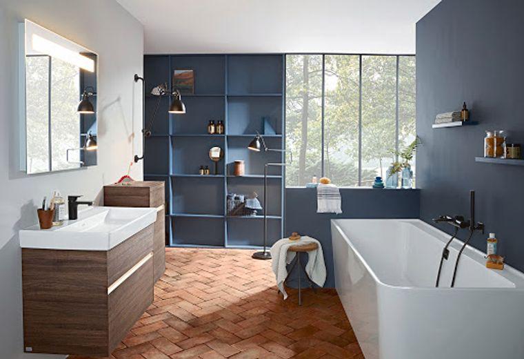decoración cuartos de baño madera