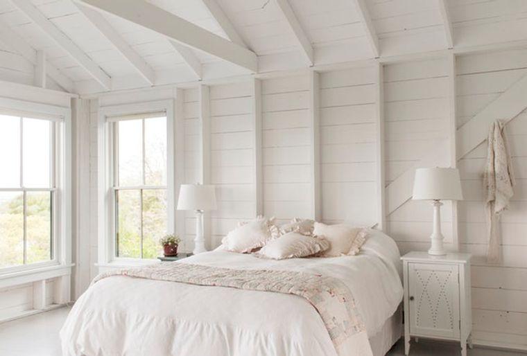decoración de dormitorios blanco