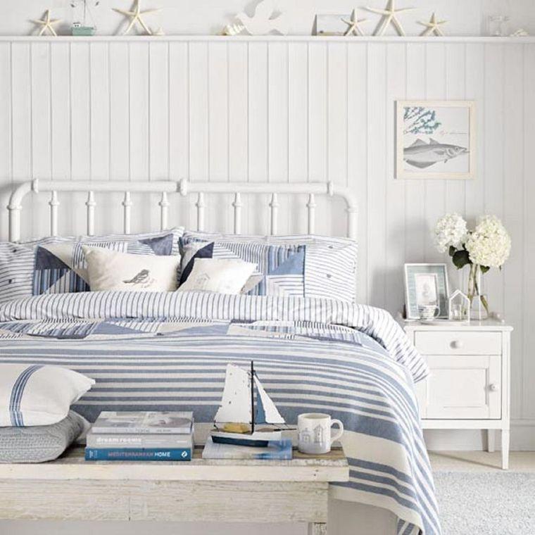 decoración de dormitorios costero
