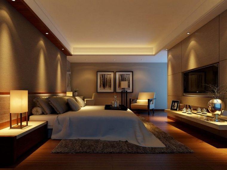 decoración de dormitorios luces
