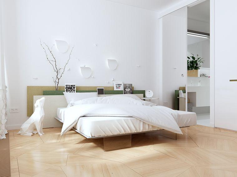 decoración de dormitorios minimalista