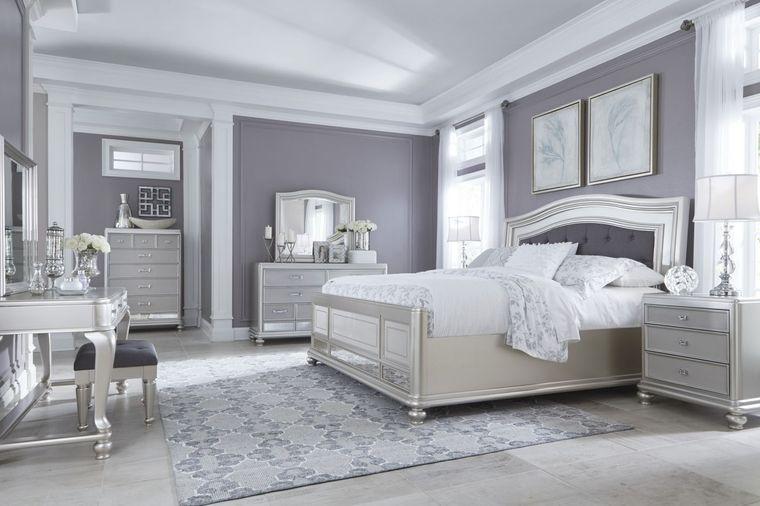 decoración de dormitorios monocromatico