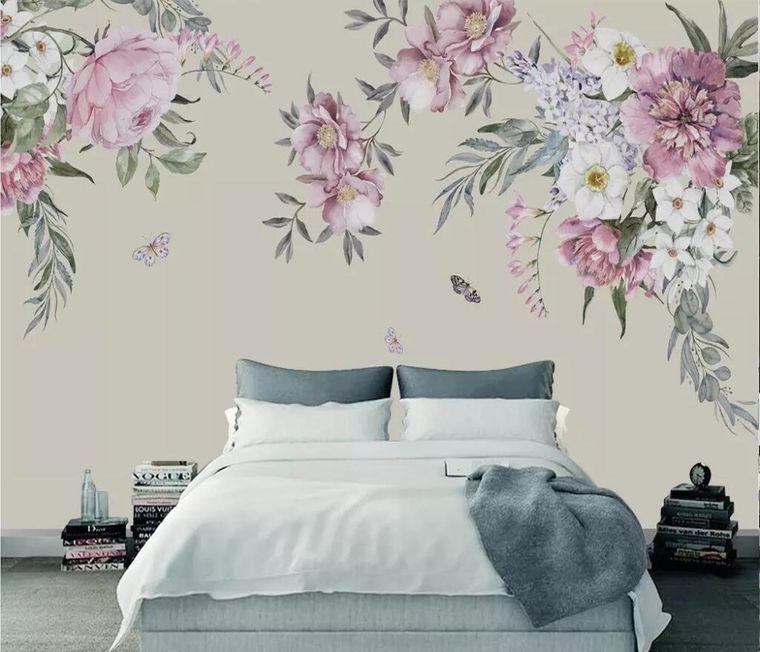 decoración de dormitorios papel