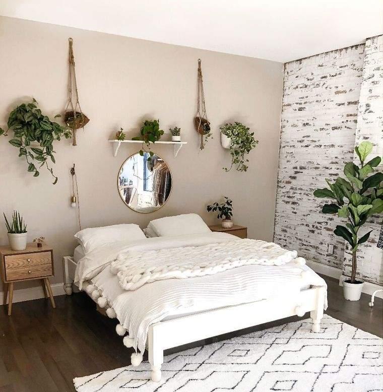 decoración de dormitorios plantaa