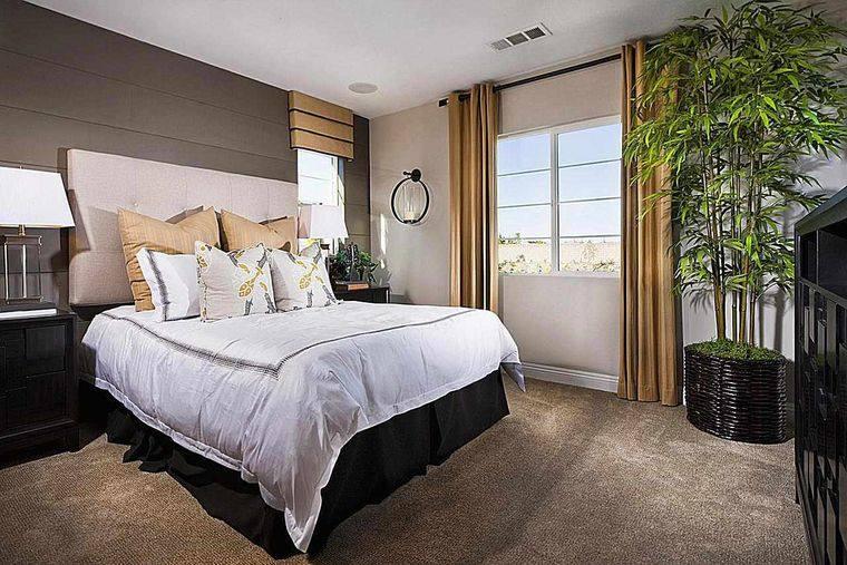 decoración de dormitorios plantas