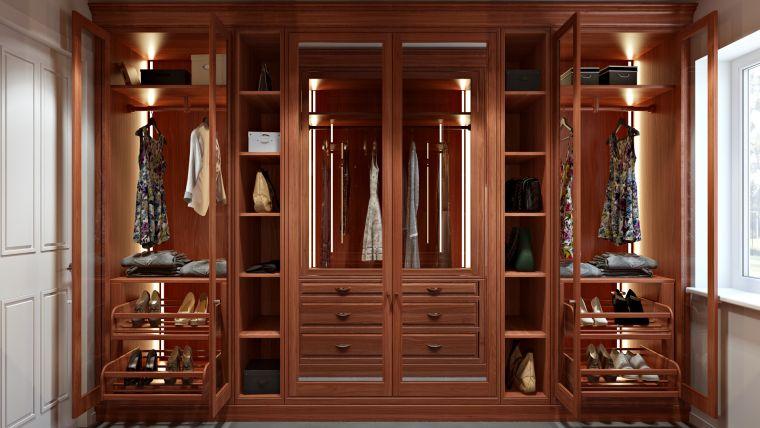 decoración de interiores closet