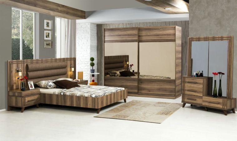 decoración de interiores madera nogal
