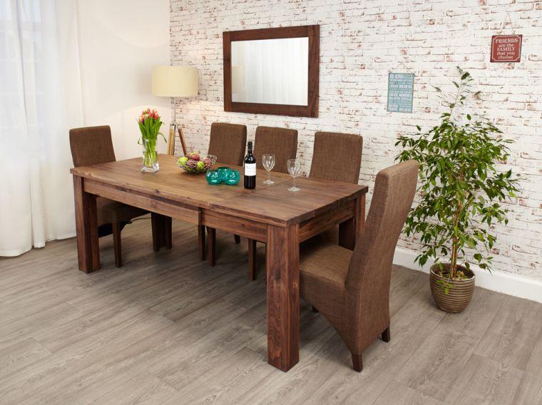 decoración de interiores mesa comedor