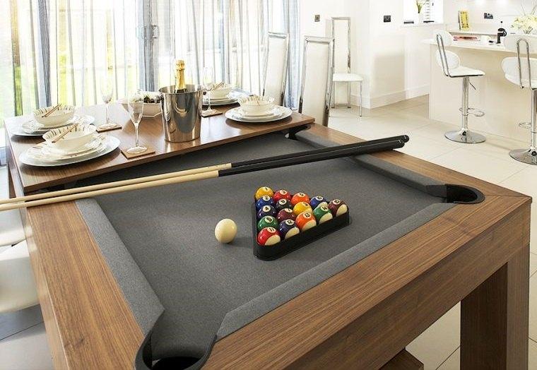 decoración de interiores mesa juego