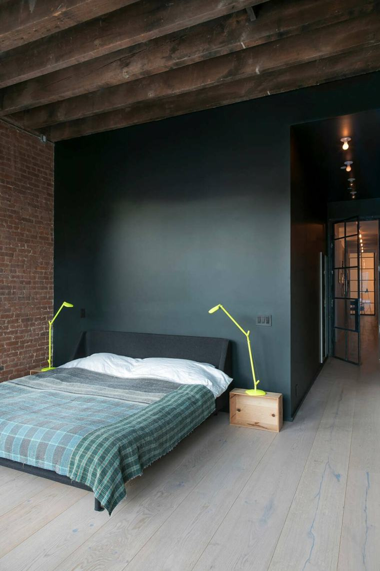 decoración loft-tribeca-days-end-dormitorio