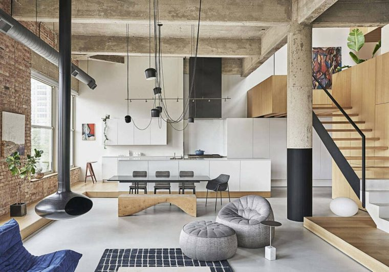 decoración loft-vladimir-radutny-architects