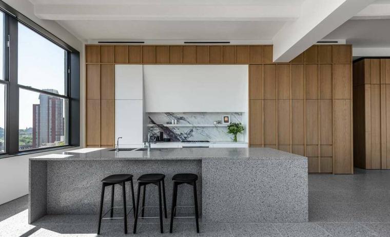 decoracion-loft-worrell-yeung-cocina-moderna