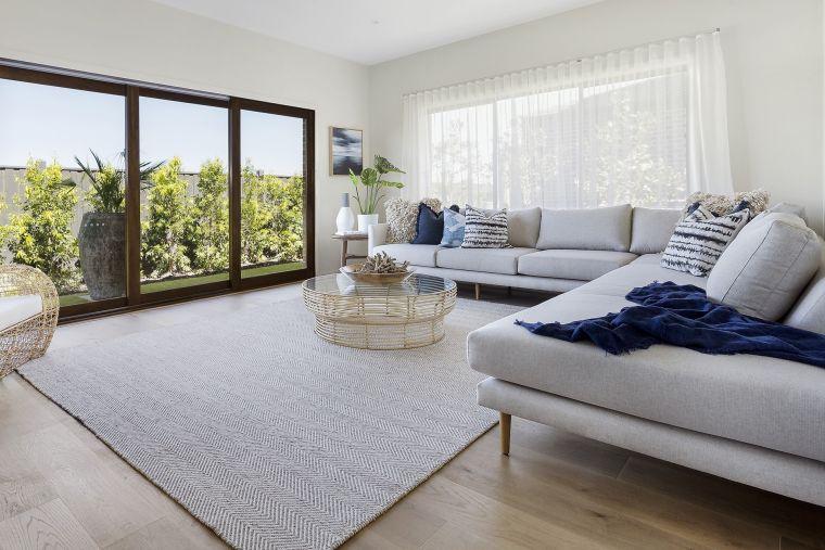 decoración moderna amplia alfombra